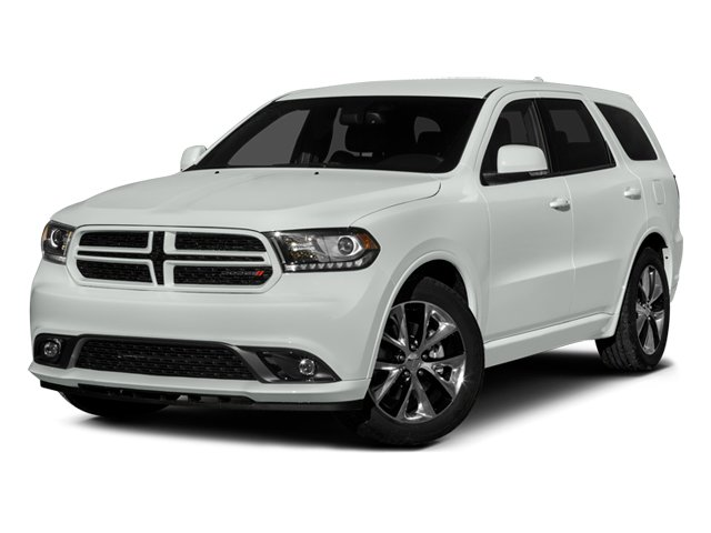 2014 Dodge Durango Prices and Values Utility 4D R/T 2WD V8 side front view