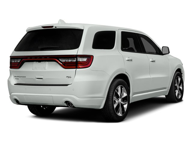 2014 Dodge Durango Prices and Values Utility 4D R/T 2WD V8 side rear view