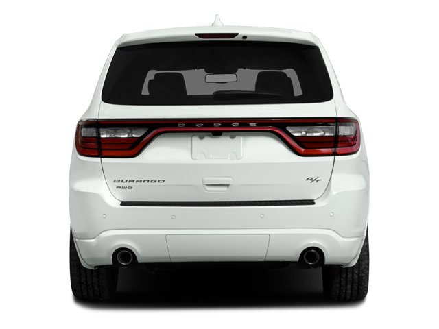 2014 Dodge Durango Prices and Values Utility 4D R/T 2WD V8 rear view