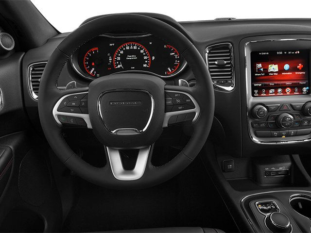 2014 Dodge Durango Prices and Values Utility 4D R/T 2WD V8 driver's dashboard