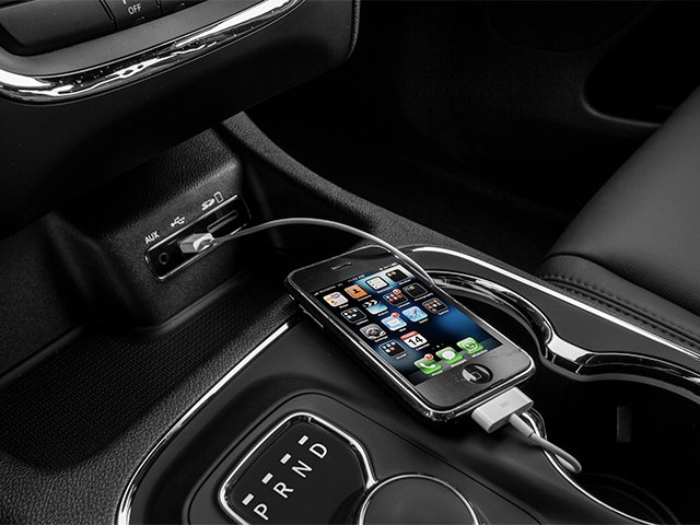 2014 Dodge Durango Prices and Values Utility 4D R/T 2WD V8 iPhone Interface