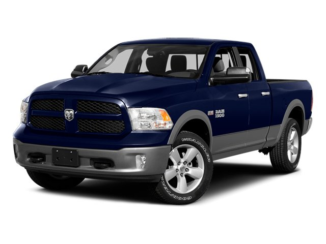 2014 Ram Truck 1500 Prices and Values Quad Cab Outdoorsman 4WD side front view