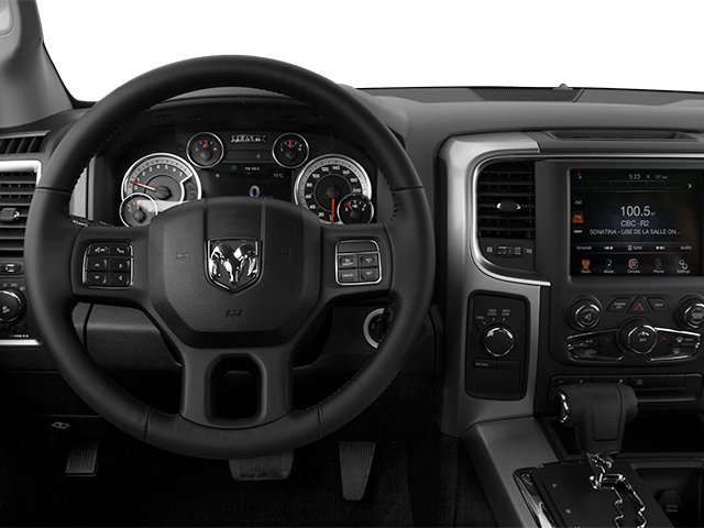 2014 Ram Truck 1500 Prices and Values Quad Cab Outdoorsman 4WD driver's dashboard