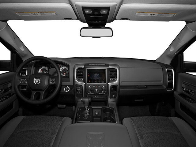 2014 Ram Truck 1500 Prices and Values Quad Cab Outdoorsman 4WD full dashboard