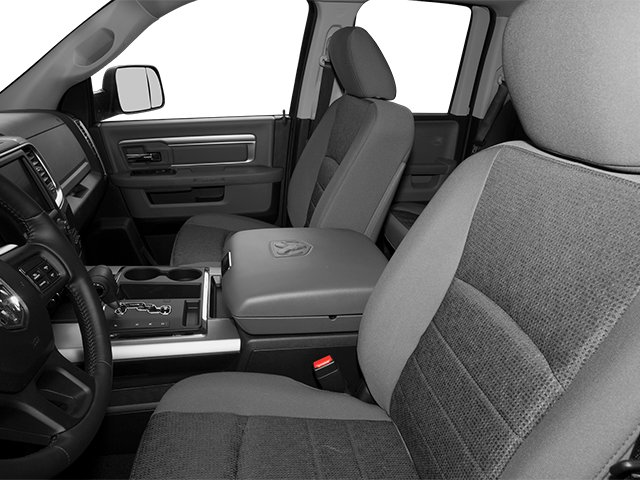 2014 Ram Truck 1500 Prices and Values Quad Cab Outdoorsman 4WD front seat interior