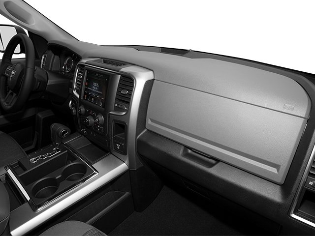 2014 Ram Truck 1500 Prices and Values Quad Cab Outdoorsman 4WD passenger's dashboard