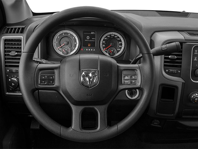 2014 Ram Truck 1500 Prices and Values Regular Cab SLT 2WD driver's dashboard