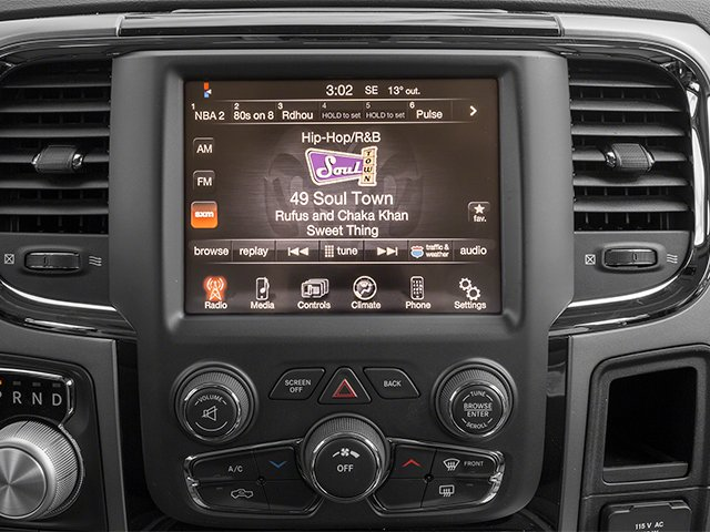 2014 Ram Truck 1500 Prices and Values Quad Cab Sport 2WD stereo system