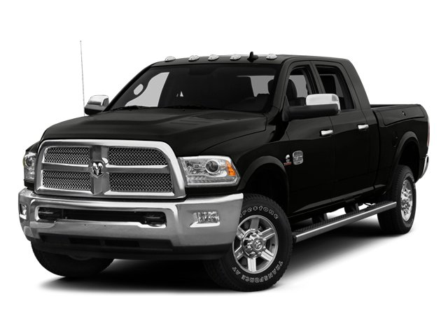 2014 Ram Truck 2500 Prices and Values Mega Cab Longhorn 4WD side front view
