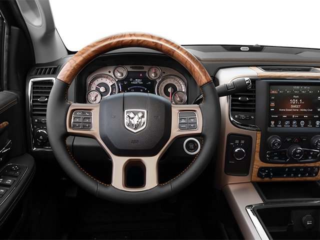 2014 Ram Truck 2500 Prices and Values Mega Cab Longhorn 2WD driver's dashboard