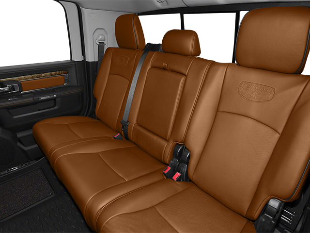 2014 Ram Truck 2500 Prices and Values Mega Cab Longhorn 2WD backseat interior