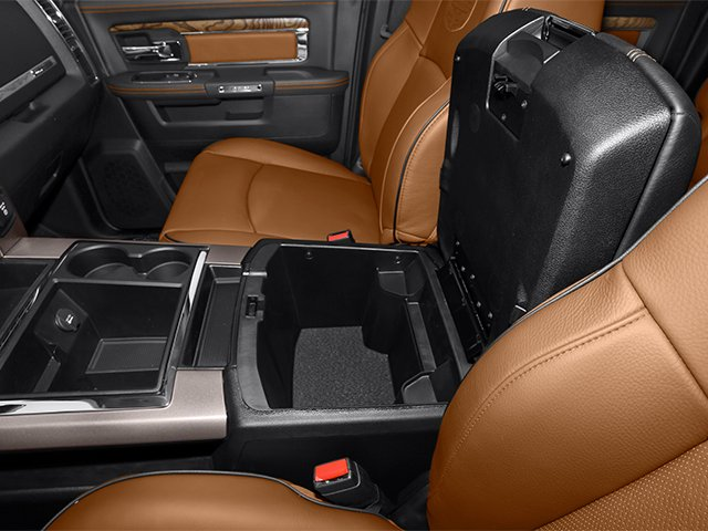 2014 Ram Truck 2500 Prices and Values Mega Cab Longhorn 2WD center storage console