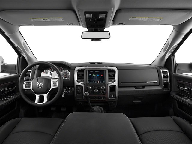 2014 Ram Truck 3500 Prices and Values Mega Cab Laramie 2WD full dashboard