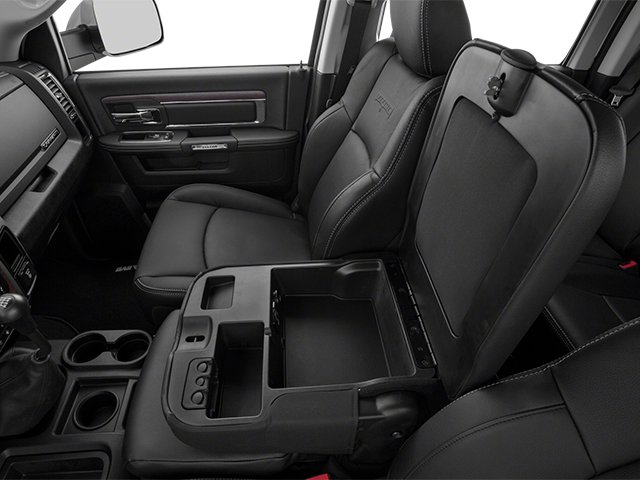 2014 Ram Truck 3500 Prices and Values Mega Cab Laramie 2WD center storage console