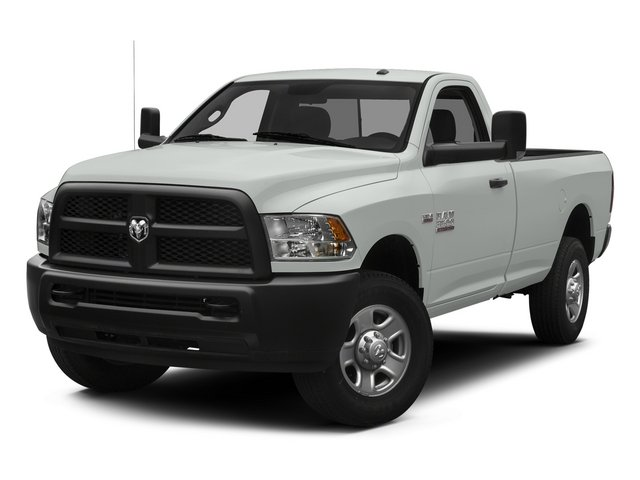 2014 Ram 3500 Pictures 3500 Regular Cab SLT 4WD photos side front view