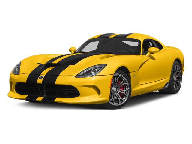 2014 Dodge SRT Viper Prices and Values 2 Door Coupe side front view