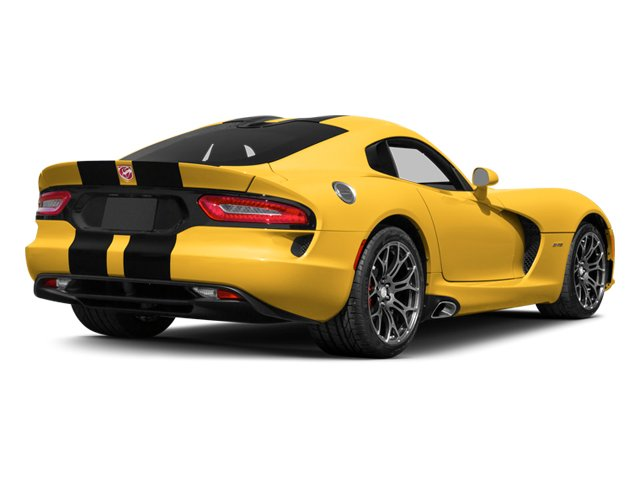 2014 Dodge SRT Viper Prices and Values 2 Door Coupe side rear view
