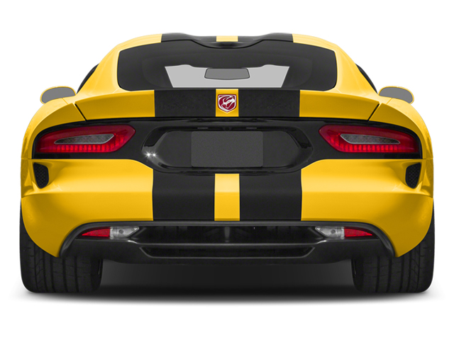 2014 Dodge SRT Viper Prices and Values 2 Door Coupe rear view
