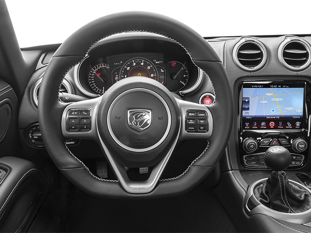 2014 Dodge SRT Viper Prices and Values 2 Door Coupe driver's dashboard
