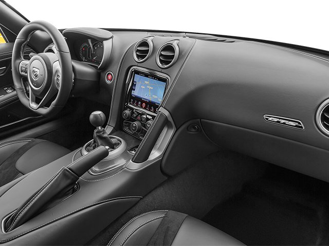 2014 Dodge SRT Viper Prices and Values 2 Door Coupe passenger's dashboard