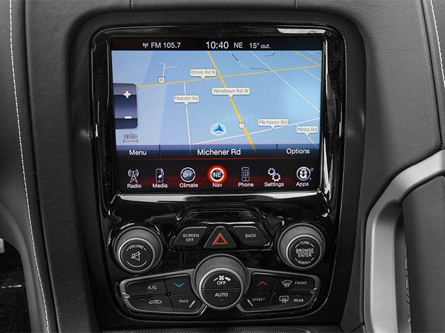 2014 Dodge SRT Viper Pictures SRT Viper 2 Door Coupe photos navigation system