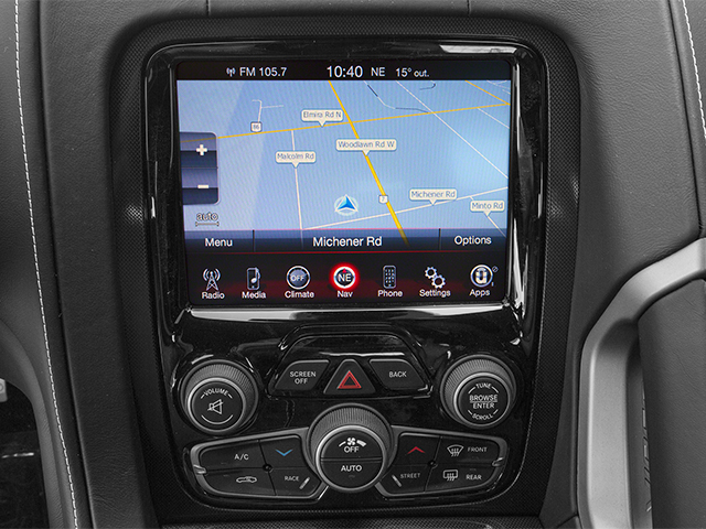 2014 Dodge SRT Viper Prices and Values 2 Door Coupe navigation system