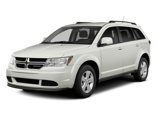 2014 Dodge Journey Prices and Values Utility 4D SXT AWD side front view