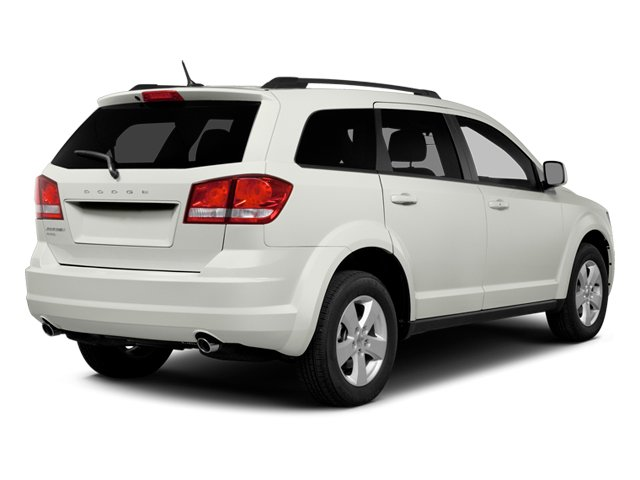 2014 Dodge Journey Prices and Values Utility 4D SXT AWD side rear view