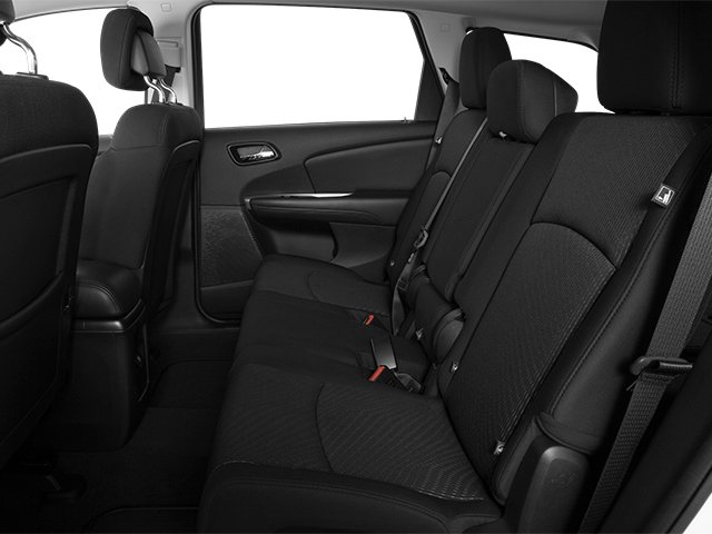 2014 Dodge Journey Prices and Values Utility 4D SXT AWD backseat interior