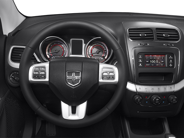 2014 Dodge Journey Prices and Values Utility 4D R/T 2WD driver's dashboard