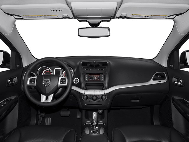 2014 Dodge Journey Prices and Values Utility 4D R/T 2WD full dashboard
