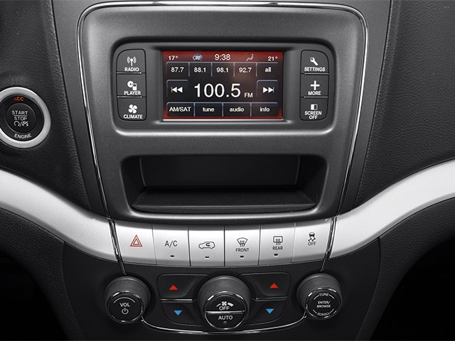 2014 Dodge Journey Prices and Values Utility 4D R/T 2WD stereo system