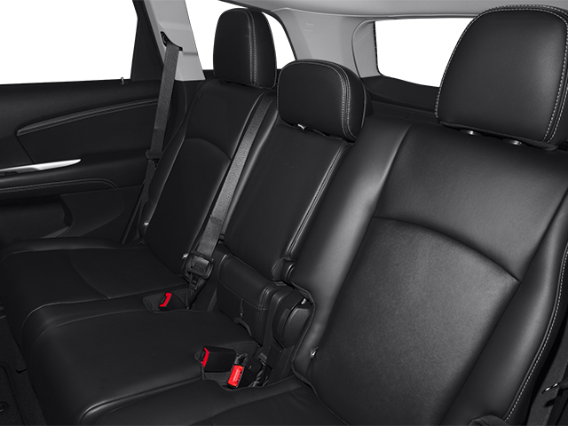 2014 Dodge Journey Prices and Values Utility 4D R/T 2WD backseat interior
