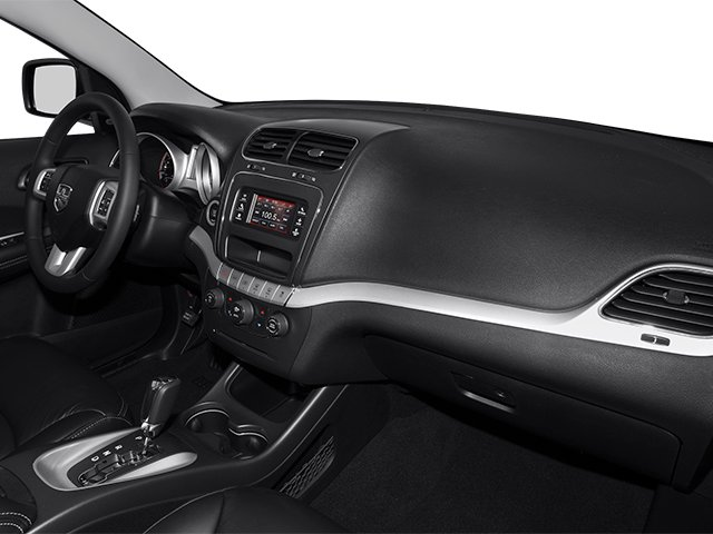 2014 Dodge Journey Prices and Values Utility 4D R/T 2WD passenger's dashboard