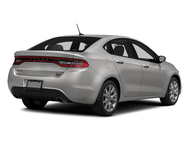2014 Dodge Dart Prices and Values Sedan 4D GT I4 side rear view