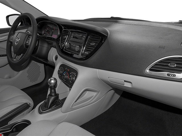 2014 Dodge Dart Prices and Values Sedan 4D Limited 2.4L I4 passenger's dashboard