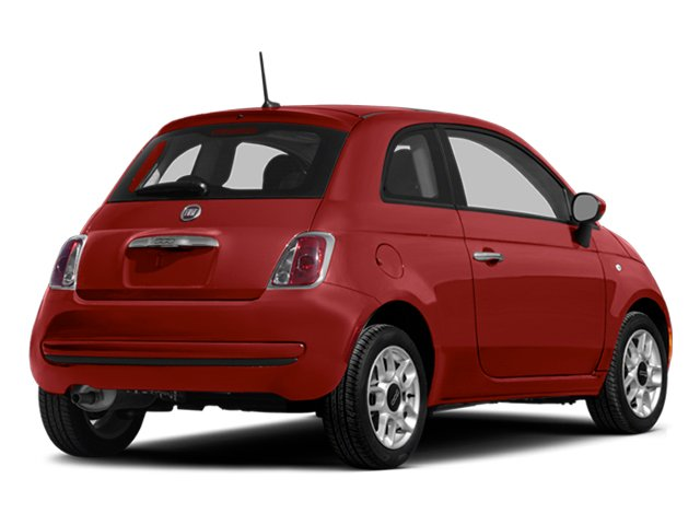 2014 FIAT 500 Prices and Values Hatchback 3D Sport I4 side rear view