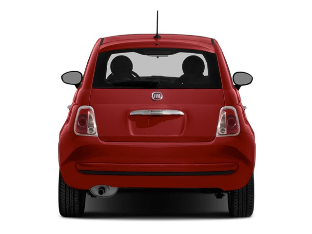 2014 FIAT 500 Prices and Values Hatchback 3D Sport I4 rear view
