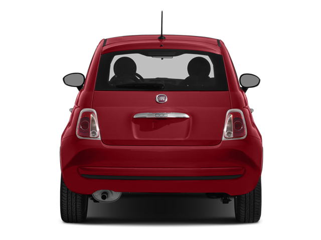 2014 FIAT 500 Pictures 500 Hatchback 3D Sport I4 photos rear view