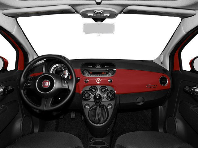 2014 FIAT 500 Prices and Values Hatchback 3D Sport I4 full dashboard