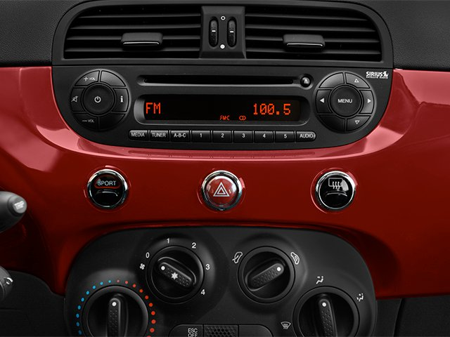 2014 FIAT 500 Prices and Values Hatchback 3D Sport I4 stereo system