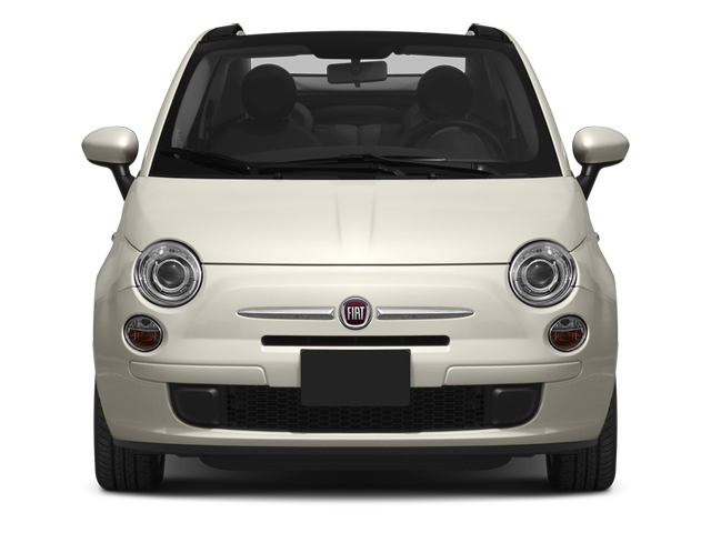 2014 FIAT 500c Prices and Values Convertible 2D Lounge I4 front view