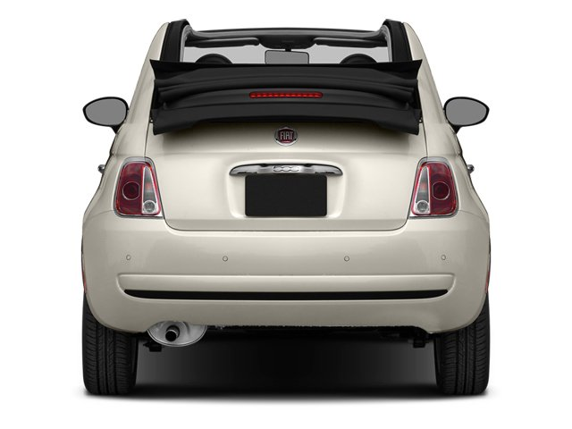 2014 FIAT 500c Prices and Values Convertible 2D Lounge I4 rear view