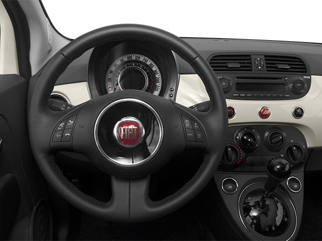 2014 FIAT 500c Prices and Values Convertible 2D Lounge I4 driver's dashboard