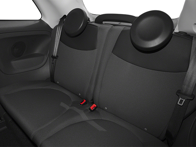 2014 FIAT 500c Prices and Values Convertible 2D Lounge I4 backseat interior