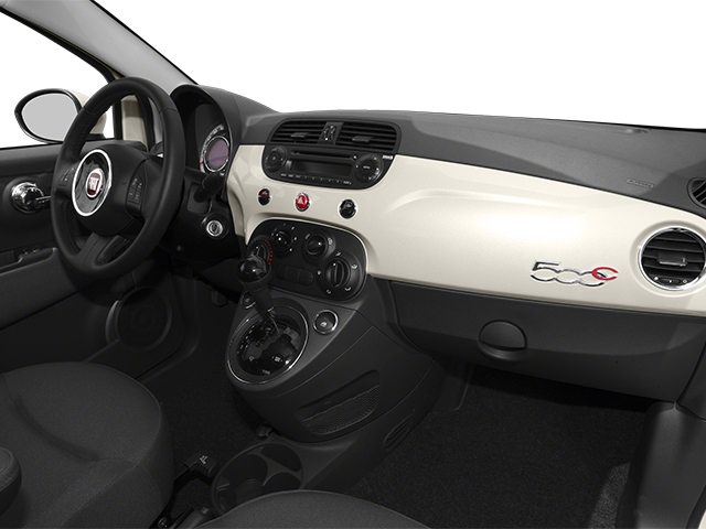 2014 FIAT 500c Prices and Values Convertible 2D Lounge I4 passenger's dashboard