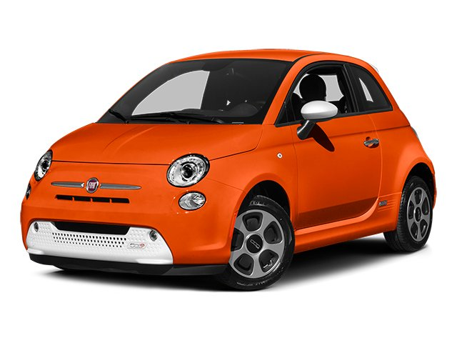 2014 FIAT 500e Prices and Values Hatchback 3D 500e Electric side front view