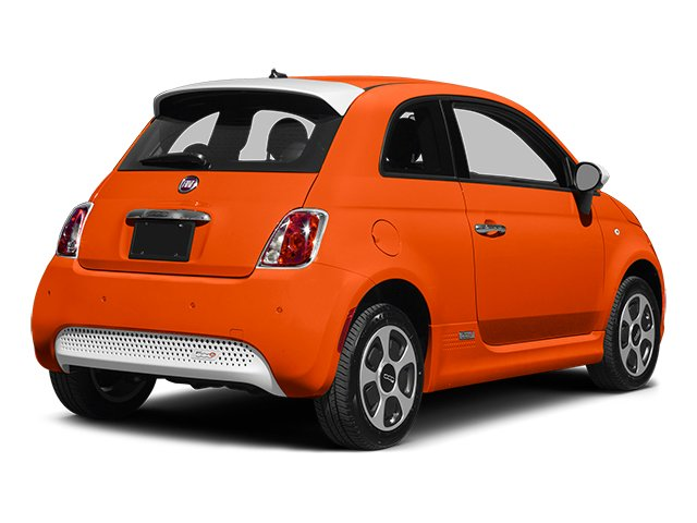 2014 FIAT 500e Prices and Values Hatchback 3D 500e Electric side rear view