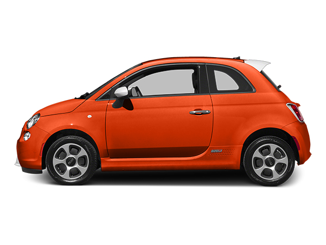 2014 FIAT 500e Prices and Values Hatchback 3D 500e Electric side view