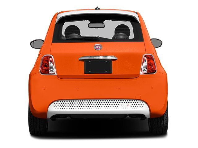 2014 FIAT 500e Prices and Values Hatchback 3D 500e Electric rear view